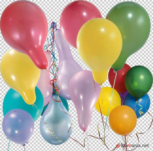 Balloons Clipart - Воздушные шарики HQ
