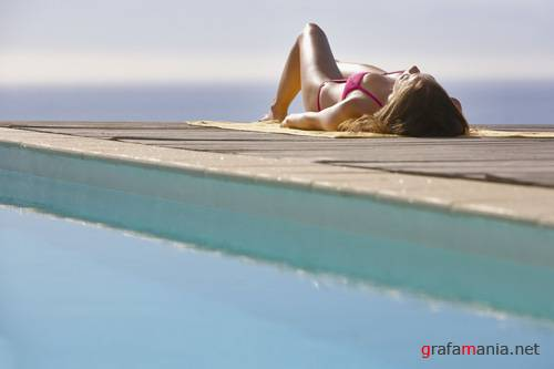 OJO Images - By the pool