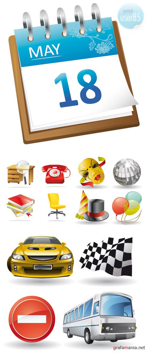 ��������� ������ - Stock Vector Icons