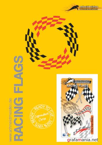 Racing Flags in vector