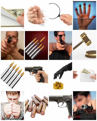 Stock images - Crime