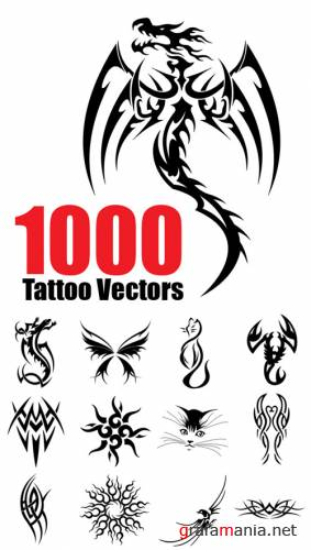 1000 Tattoo Vectors