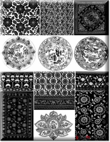 Ornaments and patterns 11   Орнаменты и узоры 11