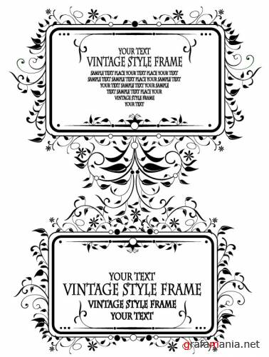 SS-Vintage Style Frame