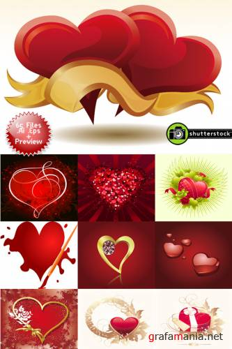 ShutterStock Heart and Love Collection