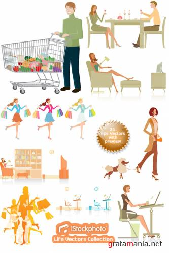 iStockphoto Life Vectors Collection