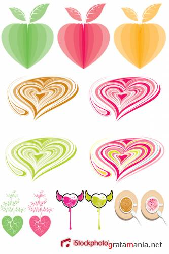 iStock Heart Vectors Collection
