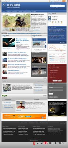 SolarSentinel v1.5.3 updated - May 09 RocketTheme Template