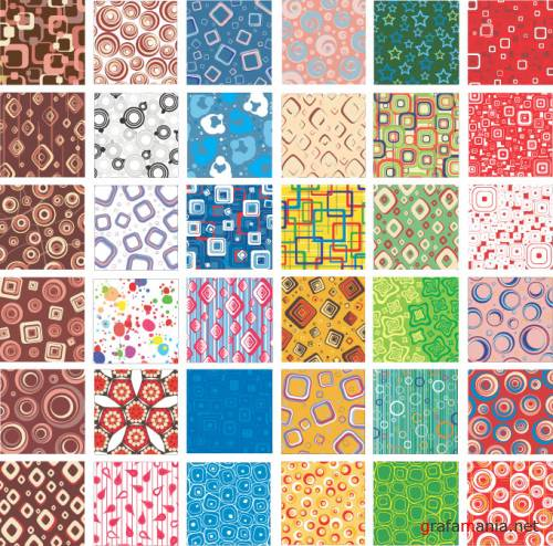 78 great vector patterns for illustrator