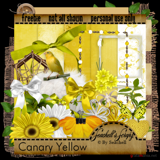 "Скрап ""Canary Yellow"""