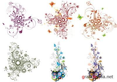 Floral Vector Curves