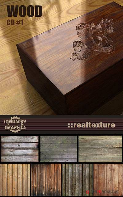 RealTexture Wood CD 1