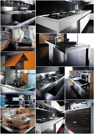 Kitchens are in style of Hi-tech