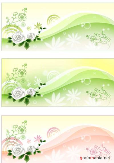 Summer and Flower vector