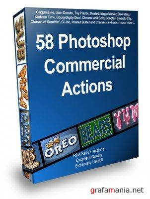 58 Actions ��� Photoshop