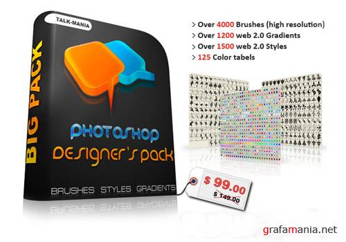 Talk Mania - Photoshop Designer's Pack