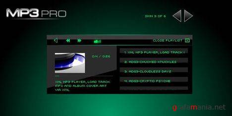 MP3 Player Pro - XML Flash