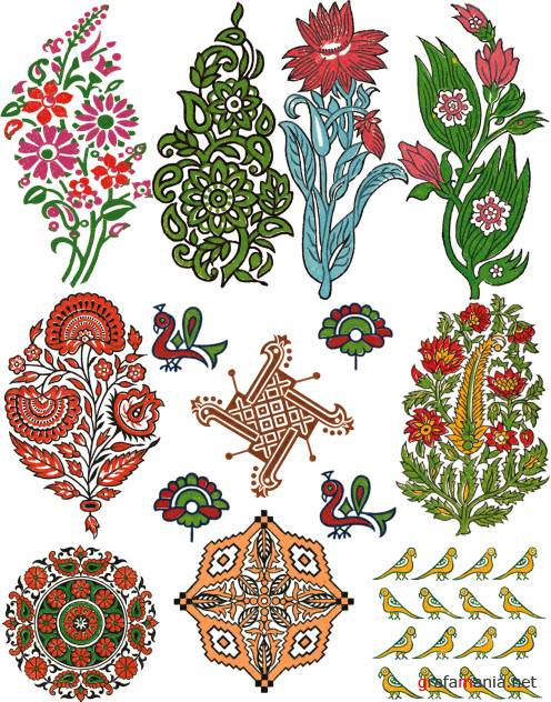 Ornaments and patterns 19   Орнаменты и узоры 19
