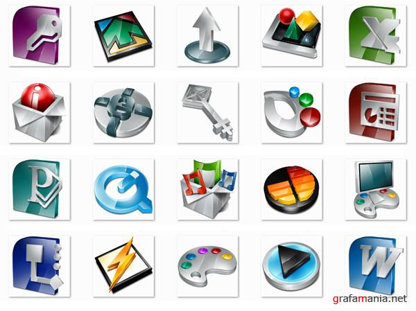 3D-icon Pack 2009