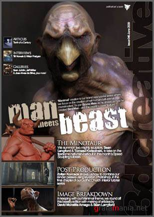3DCreative Magazine Issue No. 46 June 2009