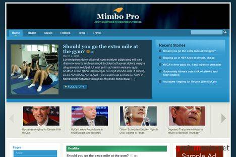 Mimbo Pro - WordPress Theme