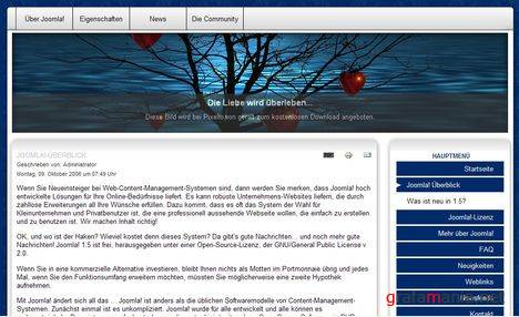 NLD Project29 - Free Joomla 1.5 Template