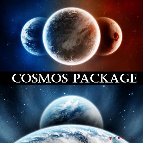Фотоклипарт - Cosmos Package (v5)