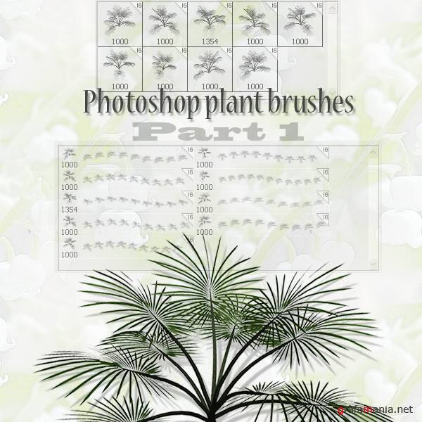 plant brushes part 1