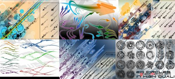 IHEA Vector Photoshop Brushes Pack