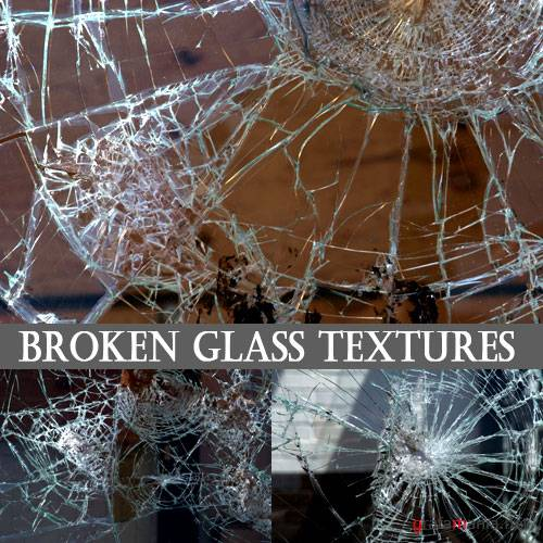 Текстуры - Broken Glass Textures