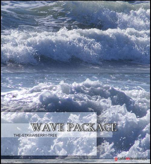 Фотоклипарт - Wave Package