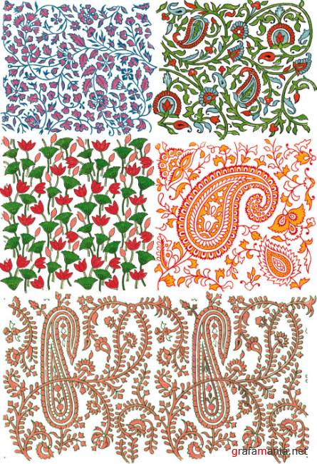 Ornaments and patterns 18   ��������� � ����� 18