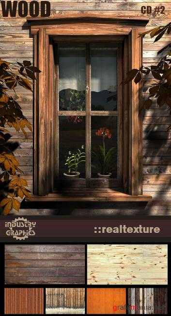 RealTexture Wood CD 2