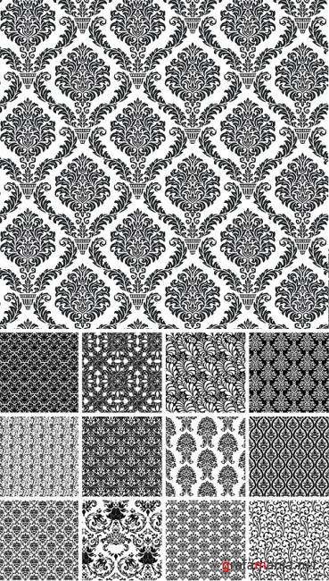 REAL Seamless Vector Patterns