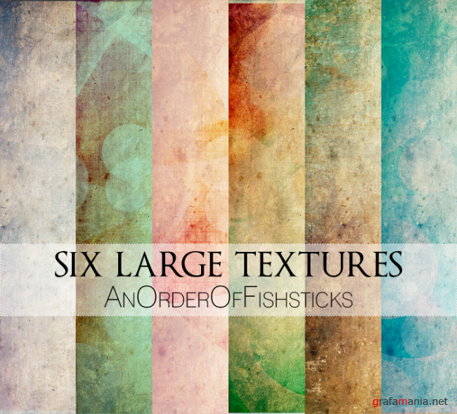 Six Large Textures