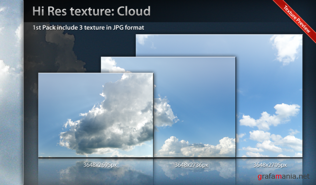 Texture Cloud Pack 01