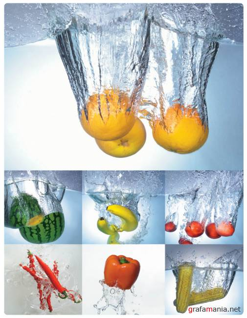 High Speed Photo  Fruit & Vegetables