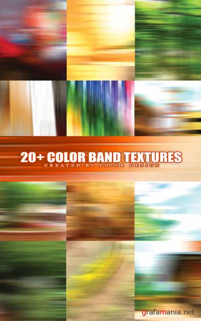 Motion Color Band Textures