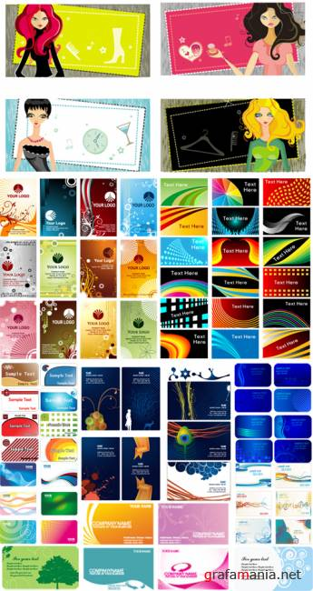 Vector clipart – cards