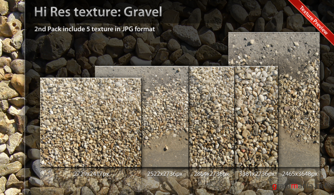 Texture Gravel Pack 02