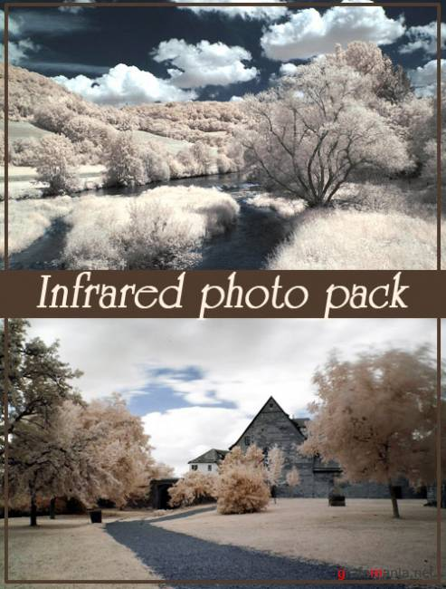 Фотоклипарт - Infrared photo pack