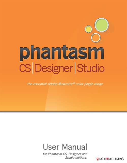 Phantasm CS Studio v1.0 for Adobe Illustrator