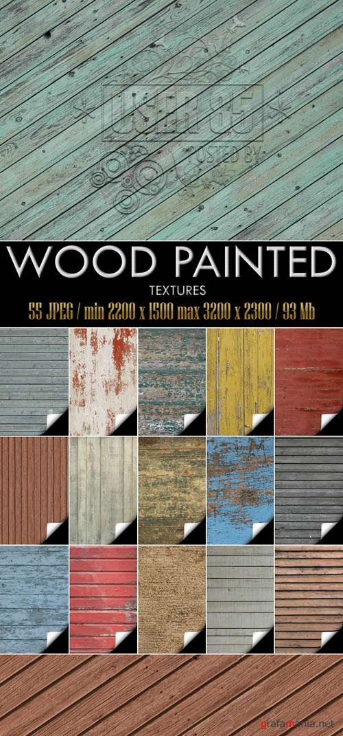 �������� - Wood Painted Textures