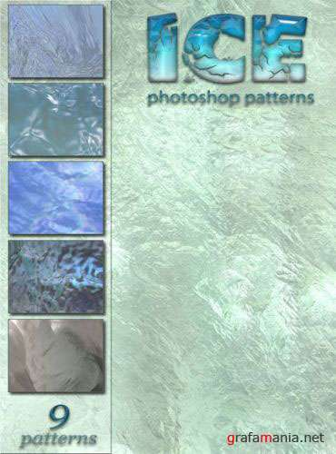 Photoshop patterns - Ice