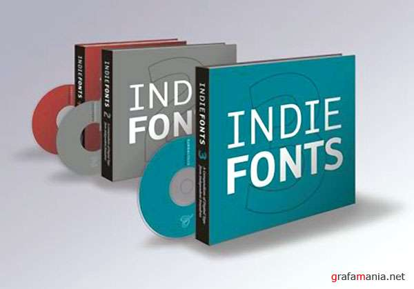 Indie Fonts 1, 2, 3 CDs