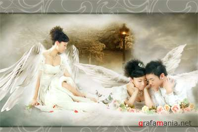 Angels 1 PSD template