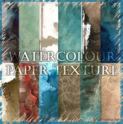 Watercolour Paper Texture Pack
