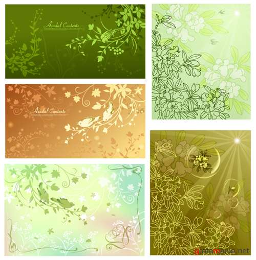 VectorPack - Flora Background 2