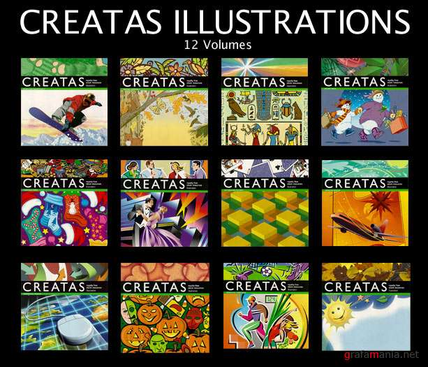 Creatas. Illustration Series