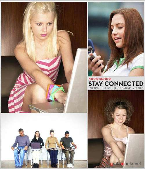 Stock Photos : Stay Connected